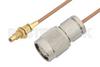 SSMC Jack Bulkhead to TNC Male Cable 36 Inch Length Using RG178 Coax -- PE3C4402-36 -Image