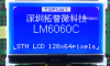 128x64 Graphic Display Module -- LM6060CFW-3 - Image