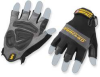 Impact Work Glove,Gel,Fingerless,S,Pr -- 1PHD1