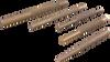 5 Pieces Brass Drift Punch Set -- C5BDS