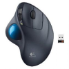 Logitech M570 Black 1 x Wheel USB RF Wireless Laser Trackball -- M570 - Image