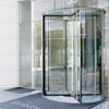Glass Revolving Doors -- Crane 4000 Series