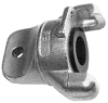 Zinc Plated Blank End -- View Larger Image