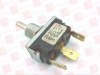 EMERSON 0091-0003 ( MCGILL, 0091-0003, 00910003, MINIATURE TOGGLE SWITCH, SPDT, ON-OFF-ON, .250 SPADE TERMINAL, 20AMP 12/250VAC, 10AMP 250VAC, 1HP 125-250VAC )