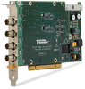 NI PCI-4462, 24 Bit, 204.8 kS/s, 4 Inputs, 118 dB Dynamic Range -- 779309-01