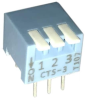 DIP Switches -- 194-3MS-ND - Image