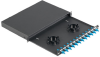 Fiber Enclosures : Fiber Enclosures with Sliding Trays -- NKFD1W12AQDLC