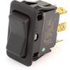 EATON EURO-SR Rocker Switch, DPDT, On-Off-On, Unlit, 8006K40N1V2 -- 43110 -Image
