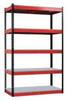 Boltless Shelving,78x48x24,Plastic -- FKR482478-5S-F-BR-HT