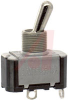 Switch, AC Rated, Toggle, SINGLE POLE, ON-OFF, Solder TERM., 6A@125V; 3A@250V -- 70155738 - Image