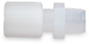Flare to NPT threaded straight adapters -- GO-30490-40