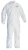 Kimberly-Clark Kleenguard A20 White 6XL Microforce Disposable Chemical-Resistant Coveralls - 036000-35670 -- 036000-35670