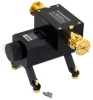 0 to 50 dB WR-19 Waveguide Direct Read Attenuator From 40 GHz to 60 GHz, Dial UG-383/U-Mod Flange -- SMW19AT5001 - Image