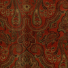 Allover Paisley Floral Fabric -- R-Warsaw - Image