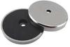 Round Base Magnet,1-1/4 Dia,11 lbs -- 10E850