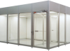Vertical Flow Hardwall Modular Cleanroom -- CAP591 - Image