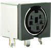 Interconnect > DIN Connectors > Mini Circular > Side-Shielded, Right-Angle PCB -- MD-70SMK