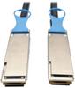 QSFP28 to QSFP28 100GbE Passive DAC Cable (M/M), QSFP-100G-CU2M Compatible, 2 m (6 ft.) -- N282-02M-28-BK - Image