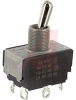 Switch, AC Rated, Toggle, DP, ON-ON, Solder TerminalS, 15A@125V;10A@250V -- 70155734 - Image