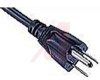 POWER CORD, 6FT 7IN, SJT, 3 CONDUCTOR, 14 AWG, 15 A, NEMA 5-15P -- 70133260