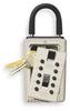 Keysafe, Portable Pushbutton,Clay -- 2XLC1