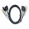 ATEN 2L-7D02UI - Video / USB / audio cable - 4 pin USB Type -- 2L7D02UI