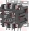SIEMENS 42DF35AF ( DISCONTINUED BY MANUFACTURER, CONTACTOR, 50AMP, 3POLE, 120V/60HZ, 110V/50HZ, OPEN ) -Image