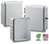 10X8X4 Premium Polycarbonate Enclosure -- H10084H