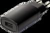 Wall Plug-In European Blade AC-DC Power Supply -- SWI3-5-E-I38 - Image