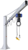 Column-Mounted Jib Cranes with Chain Hoist -- 14.05.01.00380 -Image