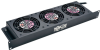 SmartRack 1U Fan Tray, 3 120V High-Performance Fans, 210 CFM, 5-15P Plug -- SRFAN1U - Image