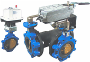 RS Series Resilient Seat Butterfly Control Valve - Image