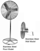 Stainless Steel Food Service 115V and 115/230V Air Circulator
