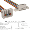 Rectangular Cable Assemblies -- M3DFK-1636R-ND -Image