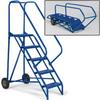 VESTIL Port-O-Fold Mobile Ladders -- 3917701