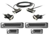 10FT LAPLINK/INTERLINK SERIAL DB9F/DB25F TO DB9F/D -- F3X171-10