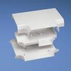 Tee White PVC -- 07498363098-1