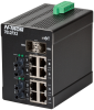 7012FX2 Managed Industrial Ethernet Switch, ST 2km -- 7012FX2-ST -Image