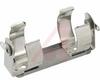 Battery Holder; D; 1.187 in. to 1.375 in.; Rugged Steel; 1; Solder Lug -- 70182577