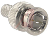 Connector, RF Coaxial;75 Ohms;RG6;BNC;For Belden 1694A Cable;Machined Brass -- 70000525