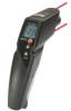 Infrared thermometer with 2 point laser sighting, adjustable alarms, and K-type thermocouple connection -- 0560 8312