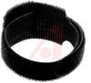 Tie; Polyethylene (Hook), Nylon (Loop);Black; 50 lbs.; 1.75 in.; 8 in.; 1 in. -- 70163622