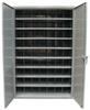 Metal Bin Storage with Adjustable Dividers -- 46-298PH-54VD-SB -- View Larger Image