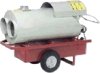 Indirect Fired Portable Heater -- Indirect Fired OHV500 - Image