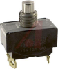 Switch, Pushbutton AC, DP, NORM. OPEN, 15A, 10A, SCREW TerminalS -- 70155682 - Image