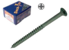Deck-Tite Decking Outdoor Screw - Trilobular Thread Net-Coat Green