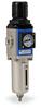 Pneumatic / Compressed Air Filter-Regulator: 1/8 inch NPT female ports -- AFR-2133-MD - Image