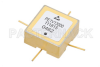 Surface Mount (SMT) Voltage Controlled Oscillator (VCO) 10 MHz to 20 MHz, Phase Noise of -140 dBc/Hz, 0.5 inch Hi-REL Hermetic -- PE1V13000 - Image