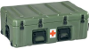 Pelican Roto-Molded Medical Supply Chest - Olive Drab -- PEL-472-MEDCHEST3-137 -Image