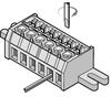 Edge Card Terminal Block Connector Pcb & Panel Mount -- 505100 - Image